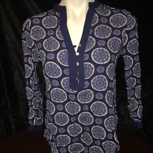 Michael Kors Navy Color blouse